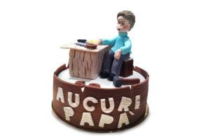Torta papà cake design Varese Castronno