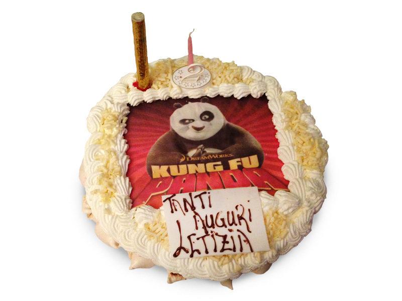 Torta Kung Fu panda Varese Castronno