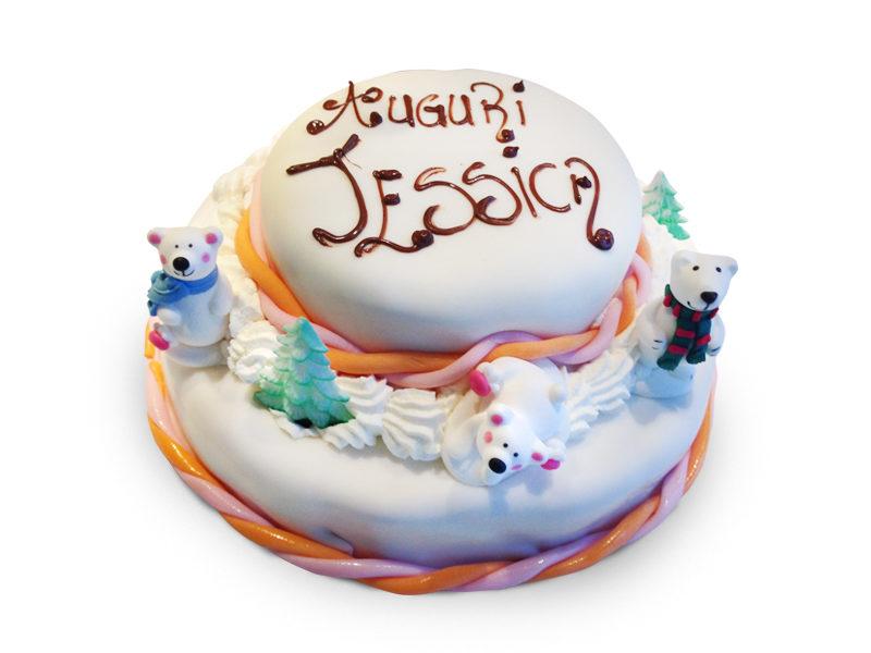 Torta orsi cake design Varese Castronno