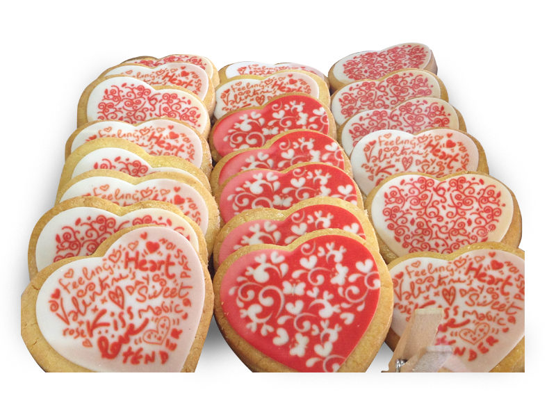 Biscotti san valentino Varese Castronno