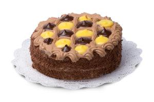 Torta classica Varese Castronno crema