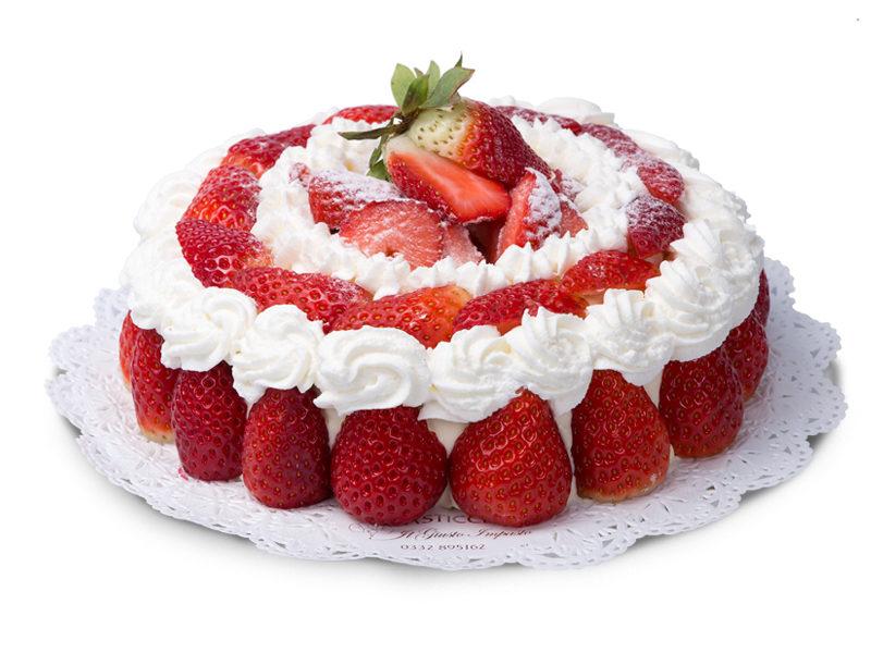 Torta panna e fragole Varese Castronno
